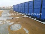 Actividades a gran escala de plástico en China rentable portátil wc prefabricados
