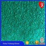 中国の工場からの建築工事の使用のための青い乳液の手袋