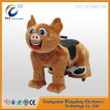 Les animaux en peluche jouet enfants Coin chaud de la machine dans le parc de loisirs