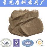 Огнеупорного сырья 95% зерна Al2O3 коричневого цвета алюминия с плавким предохранителем химическая