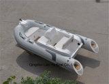 Barco inflable de la costilla de la fibra de vidrio de Liya los 3.3m con los motores externos