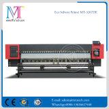 두 배 4는 Epson 인쇄 헤드를 가진 1.8m/3.2m Eco 용해력이 있는 인쇄 기계를 착색한다