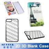 caixa feita sob encomenda do telefone móvel do espaço em branco do Sublimation da impressão 3D 2D