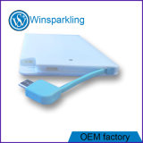 potência externa do cartão da bateria do carregador 4000mAh móvel