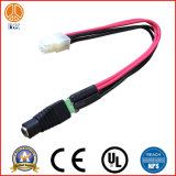 Cable de encargo al por mayor del audio del negro 3.5m m frecuencia intermedia los 5FT
