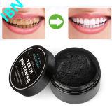 Dientes activados crema dental negra vendedores calientes del carbón que blanquean el polvo