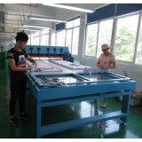 Machine de découpe de Swatch de tissu avec table rotative