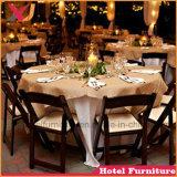 Banquet de mariage en plein air en plastique partie chaise pliante