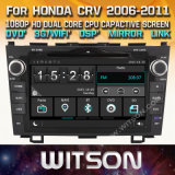 Witson Windows Радио стерео проигрыватель DVD для Honda CRV 2006 2011
