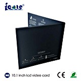 Fabrik-Preis für 10.1 Zoll LCD-Video-Broschüre