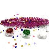 Fucsia brillante Festival Festival de polvo, accesorios para decoración de Navidad