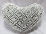 Diseño de corazón cojín relleno de confort