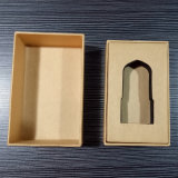 고급 제품을%s 전자 상표 Kraft 주문을 받아서 만들어진 종이상자