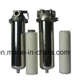 Cartucho de filtro de PVDF para la membrana estéril plisada micro hidrofóbica