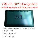 """Venta de fábrica 7.0"""" Alquiler de carretilla Marine, navegación GPS con WINCE 6.0 Sistema de navegación GPS, FM, AV de la cámara trasera de aparcamiento, navegador GPS, Bluetooth, antena de seguimiento"""