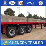 3 Semi Aanhangwagen van de Container van assen 20FT 40FT Flatbed