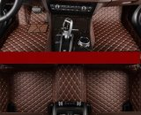 Couvre-tapis en cuir 2015-2017 de véhicule pour la série 5D convertible XPE de BMW 2