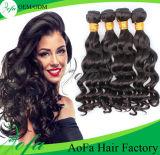 7A等級100%の加工されていないバージンのブラジルの人間の毛髪