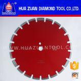 Sierra circular de diamante para cortar asfalto con larga vida útil