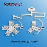 LED da lâmpada cirúrgica760 para quarto Operatng Montados no Tecto