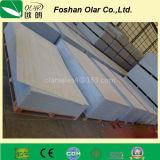 Tarjeta del soporte de la pared del cemento de la fibra (material de construcción)