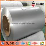 Bobine en aluminium enduite par couleur métallique argentée