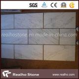 Mattonelle di marmo bianche orientali cinesi poco costose per il pavimento