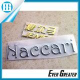 Изготовленный на заказ стикер PVC серебра 3D для автомобилей