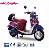 Motocicleta elétrica de tipo minúsculo com caixa traseira
