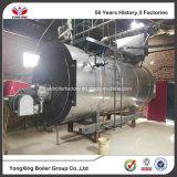 Chaudière à vapeur de renvoi de gas-oil de tube d'incendie trois pour l'industrie chimique