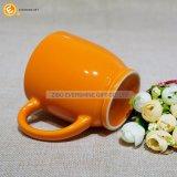 De sinaasappel Verglaasde Mok 200ml van de Espresso van de Sublimatie Ceramische