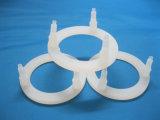 Costume de alta temperatura tampa transparente moldada da borracha de silicone para as peças da máquina