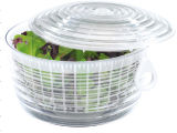 Filatore dell'insalata, filatore di verdure, recipiente di plastica