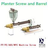 husillo y cilindro de la sembradora