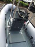 Bateau de côte d'Aqualand/console gonflable rigide de bateau (fh)