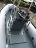 De Boot van de Rib van Aqualand/de Stijve Opblaasbare Console van de Boot (fh)