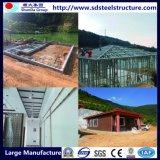 Prefabricados de acero de la luz de Casa Villa de la fábrica de materiales de construcción