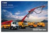 XCMG 공식적인 제조 Hb37k 믹서를 가진 트럭에 의하여 거치되는 구체 펌프