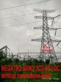 Toren van de Transmissie van Megatro 500kv 5c3-Sdj gelijkstroom de Eind