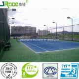 Поверхность спорта теннисного корта сопротивления хорошей погоды