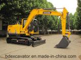 中国のISO9001証明書が付いている小さいクローラー掘削機