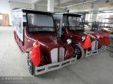 O carro elétrico feito em China é navigação quente