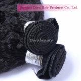 Trame noire normale de tissage péruvienne accessible de cheveux humains d'extensions de cheveu