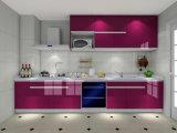 光沢度の高い食器棚の/Colorfulの台所単位