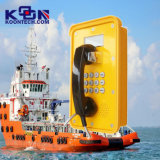 Knsp-16 Wireless Sos Помощь Телефон Морефон Настенное крепление Экстренный телефон для тяжелых рабочих станций Промышленный телефон