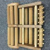 Rouleau de massage en bois de Massage de pied d'administration