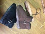 Высокая/высшего качества для снега ботинки и зимние ботинки, Sheepskin дамы загружается