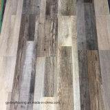 Plancher desserré de vinyle de configuration de modèle en bois