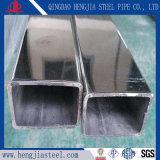 L'acciaio inossidabile 316L di AISI 304 convoglia il tubo rettangolare per il corrimano