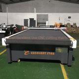 Excelente Star Faca Vibração CNC máquina de corte de couro com Alimentação Automática 2516